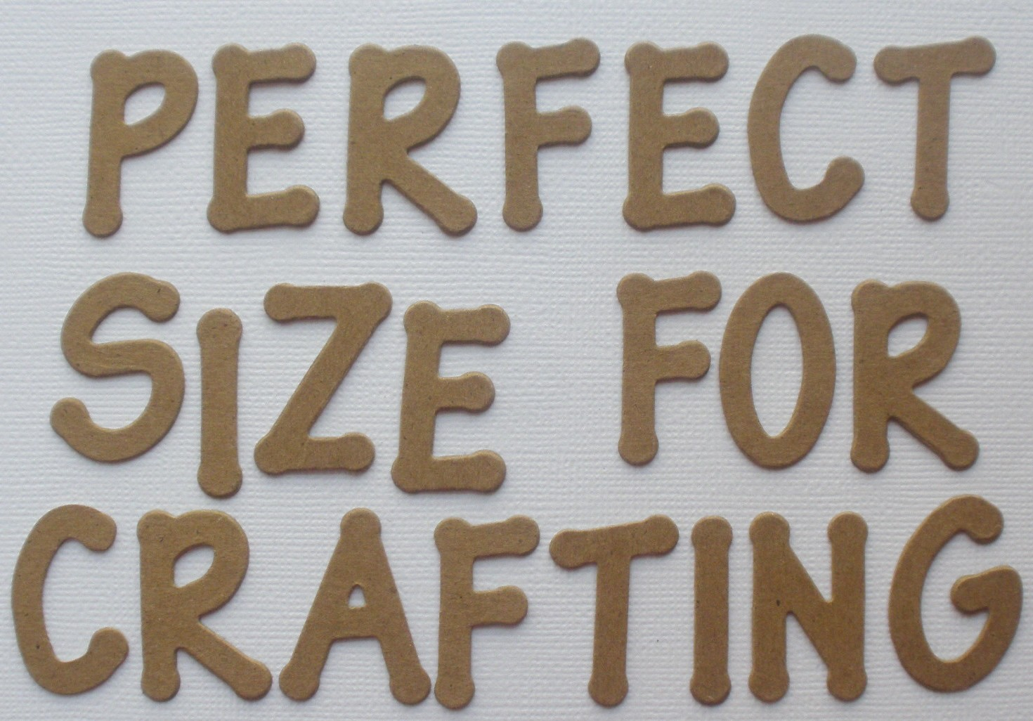 ... Font Customized Alphabet Letters Chipboard Die Cuts 26 PC | eBay